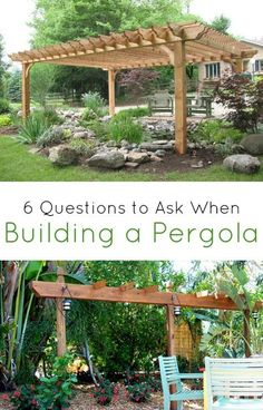 Planning on building a pergola to enhance the outdoor appearance of your home? This handy checklist will ensure you have all your bases covered before starting the project. These six questions will help you choose the right materials for your pergola, make sure your measurements are correct and help you decide whether to DIY the project, hire someone to build it for you or use a pergola kit,
