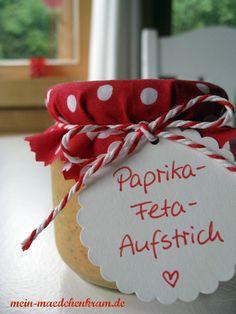 Mädchenkram: Paprika-Feta-Aufstrich
