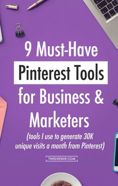 Looking for time-saving Pinterest tools to grow your Pinterest & website traffic? Here are some really useful Pinterest tools!