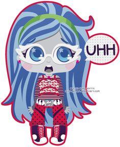 Ghoulia Yelps by Miss-Glitter on DeviantArt Monster High Art, Love Monster, Jurassic Park World, Mattel Dolls, Clay Dolls, Kawaii Art, Disney Drawings, Anime Chibi, Cool Toys