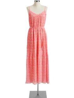 Old Navy Womens Printed Pleated Chiffon Maxi Dresses stephaniemoyer  Printed Dress #2dayslook #PrintedDress #sasssjane #sunayildirim  www.2dayslook.com