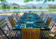 The Jordan Restaurant, owned by George Jardine, is situated outside of Stellenbosch in the Jordans Winery and features a mouth-watering and eye-catching menu. www.capetownmagazine.com/best-restaurants-south-africa