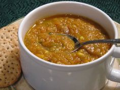 Slow Roasted Vegetable Soup