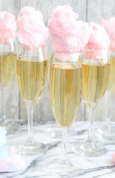 21 Party Ideas for a Unicorn Baby Shower Sip on Cotton Candy Champagne Cocktails at your unicorn baby shower with this easy recipe. The post 21 Party Ideas for a Unicorn Baby Shower appeared first on Champagne. Deco Baby Shower, Shower Party, Baby Shower Parties, Shower Gifts, Baby Shower Candy, Pink Baby Showers, Bridal Shower Pink, Baby Girl Shower Food, Baby Shower Foods