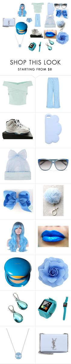 """this is all light  blue"" by babygurl1066 ❤ liked on Polyvore featuring N°21, NIKE, STELLA McCARTNEY, Federica Moretti, Chloé, LULUS, Shiseido, Antica Murrina, Swarovski and Yves Saint Laurent"