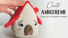 Cómo tejer un amigurumi cuadrado. Patrón casa amigurumi. - YouTube Crochet Hats, Youtube, Marvel, Home, Sewing Needles, How To Knit, Magic Ring, Napkin Holders, Tejidos