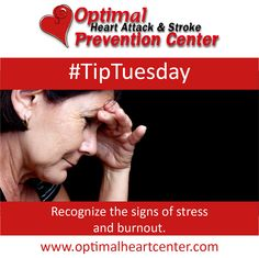 #TipTuesday Recognize the signs of stress at the holiday season