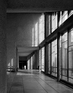 Le Corbusier's Couvent Sainte-Marie de la Tourette, Eveux, France, 1953  photographed by Helene Binet