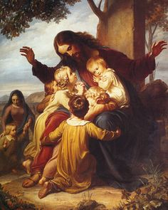pictures of jesus with kids on his lap | Saturday, July 17, 2010