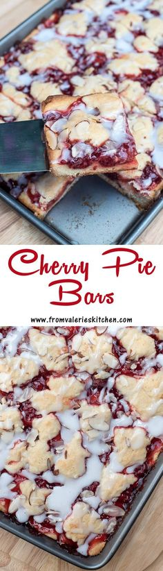 These pretty bars are quick and easy to make and include ingredients you can easily keep stocked in your pantry. ~ http://www.fromvalerieskitchen.com