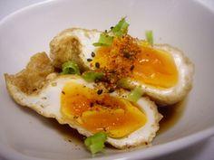 卵の油揚げ巾着煮