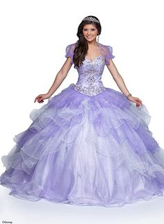 Disney Princess-Inspired Quinceanera Dresses
