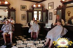 Can you name the barbershop in the Magic Kingdom?  And have you or anyone in your family ever had a haircut there?!