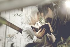 Nezumi and shion cosplay from No.6