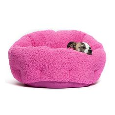 Pink Pet Bed For Older Dogs and Cats With Aching Joints Dog Beds Up to 25 Pounds #Unbranded