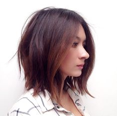 Soft textured bob ❤️ Credit: Ramirez Tran Salon