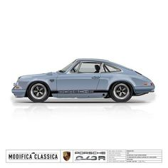 Here is a custom rendering for Kevin's project 912R in Meissen Blue with wider fenders, roll cage, center fill tank, a spyder mirror, and some deep Fuchs. #cardesign #porsche #porscheclassic #classic #classiccarsdaily #petrolicious #fuchs #stancenation #drivetastefully #getoutanddrive #carart #carporn #carsofig #automotive #aircooled #aircooledsociety #design #cardesign #rendering #vectorart #automotiveart #illustrator #stancenation #vintage #911 #912 #custom #artist #designer…