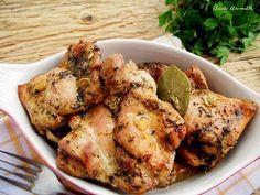 Pulpe dezosate cu condimente la cuptor Romanian Food, Romanian Recipes, Continental Breakfast, Tandoori Chicken, Chicken Wings, Cauliflower, Food And Drink, Vegetables, Cooking