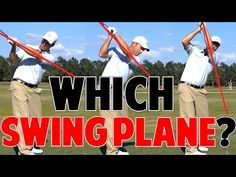 In this article I'm going to explain what a one plane swing is, and what a two plane swing is. :-) The differences between a one plane swing and a two plane swing are quite obvious. How To Know, How To Find Out, Golf Range Finders, Golf Shafts, First Plane, Golf Score, Golf Putting Tips, Shots Ideas, Golf Exercises