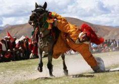 Horse Racing Festival in Nagchu. Highlights in Tibetan tour.