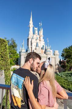 Disney World Magic Kingdom Proposal - Ryan and Celeste — Orlando Wedding Photographer Lori Barbely
