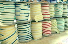 3in Santorini Tapes. Fringe Market #fringemarket #passementerie #wideribbon