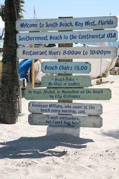 SOUTH BEACH KEY WEST, FLORIDA