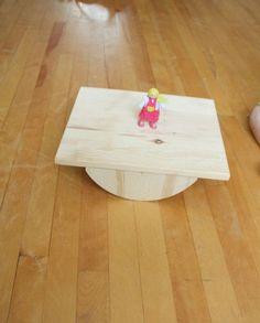 Handmade Wooden Balance (Wobble) Board | Thomas Woodcrafts | Reclaimed Wood