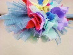 https://www.etsy.com/uk/listing/158851840/rainbow-rag-pom-pom-garland?ref=shop_home_active #etsy #upcycling #rainbows