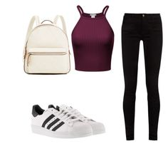 """""""HAPPY"""" by peytongirl on Polyvore featuring Gucci and adidas"""