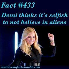 Follow @DLovatoCanada on Twitter for more fun facts Demi Lovato fun facts