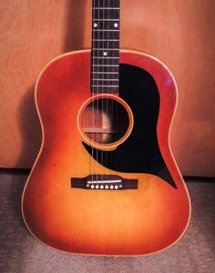 1958 J50 Vintage Gibson 6 string acoustic Guitar for Sale!