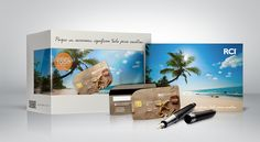 Vacations on Behance #presskit #RCI #graphicdesign #packaging #travel #vacations