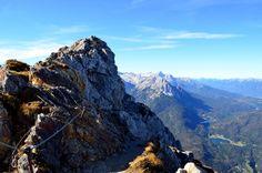 Mittenwalder Kletterstieg - Karwendelgebirge, Mittenwald, Bavaria, Germany #outdoor#karwendel