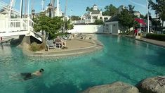 Disney's Beach Club Resort, Fun starts at 2:15 oh how I wish I was there, the water looks AWESOME