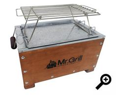 Mr Grill - CAJA CHINA MINI Cajun Microwave, Stoves Cookers, Diy Grill, Fire Food, Pig Roast, Bbq Party, Barbacoa, Outdoor Cooking, Storage Chest