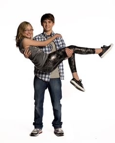 Olivia Scriven (Maya) and Dylan Everett (Cam) #DegrassiSeason12