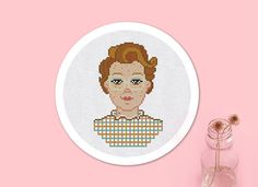 Cross Stitch Pattern Barb from Stranger Things Instant
