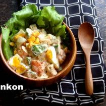 えびとアボガドとゆで卵のサラダ。のちサンドイッチ。 |山本ゆりオフィシャルブログ「含み笑いのカフェごはん『syunkon』」Powered by Ameba
