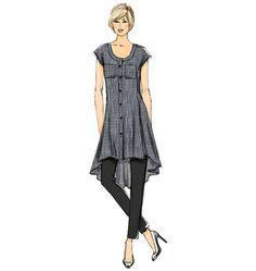 Schnittmuster Tunika und Hose Damen Vogue Größe 42-50
