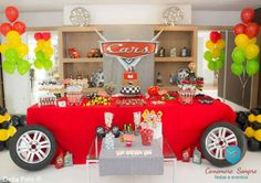Birthday Party Ideas - Blog - CARS THEMED BIRTHDAY PARTY IDEAS