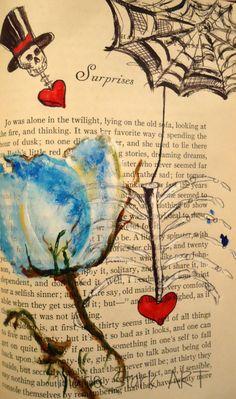My darling Clementine Valentine ART by MarieStarkART on Etsy, $20.00