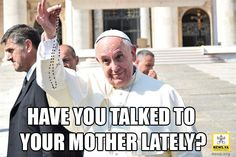 Pope Francis wants you to Pray the Rosary!