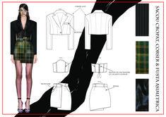 madalina buzas on Behance Ma Degree, Ethnic Fashion, Behance, Fashion Design, Outfits, Style, Molde, Behavior, Clothes