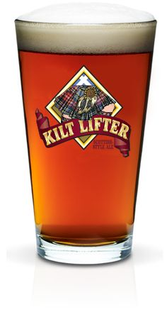 Kilt Lifter® is our award-winning flagship brew, crafted in the tradition and honor of the great strong ales of Scotland. More Beer, All Beer, Best Beer, Beer Art, Beers Of The World, Acquired Taste, Beer Brewery, Pub Crawl, Beer Recipes