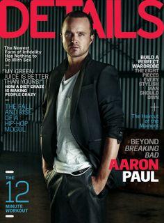 February 2014, Aaron Paul.