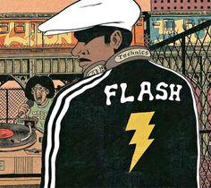 Grand Master Flash, by Ed Piskor