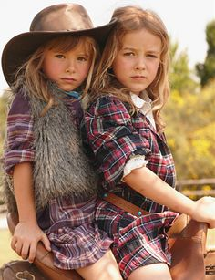 Faux Fur + Plaid. If this was for adults, i would totally buy it.