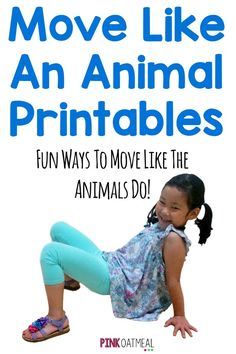 Fun ways to move like an animal! These are great for brain breaks and could be used in stations or on a smart board! Great for brain breaks too!