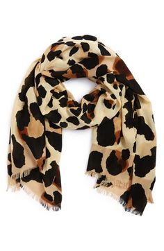 Vince+Camuto+'Cheetah+Calling'+Wrap+available+at+#Nordstrom